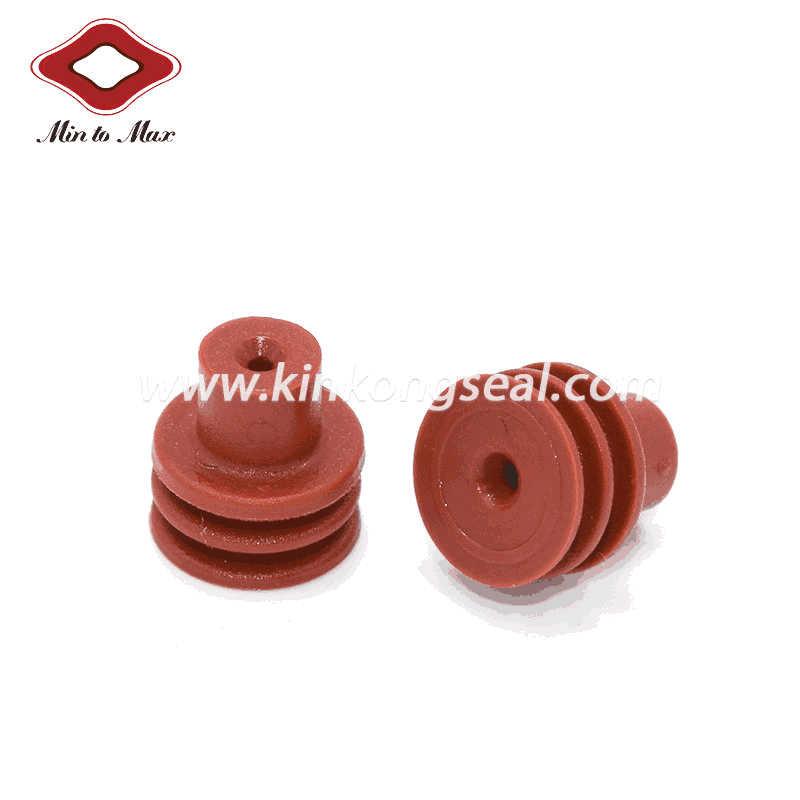Automotive Connectors Loose Cable Seal Dark Red 15324983