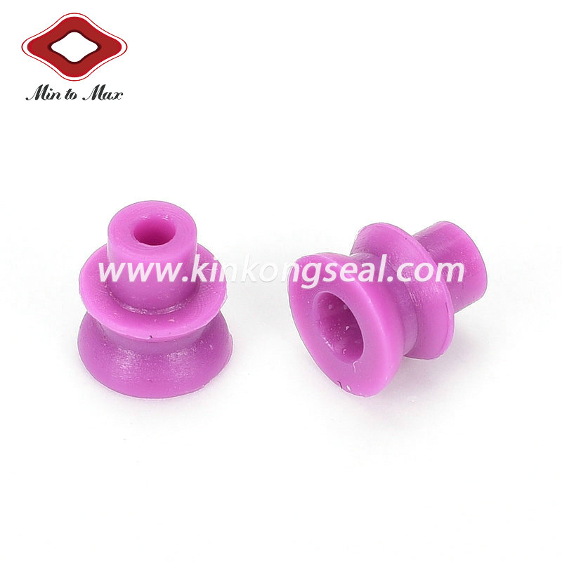 Silicone Single Wire Seal For Auto Connector Waterproof