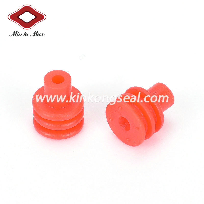 Silicone Rubber Single Wire Seal For Wiring Assembly , Accept Customization