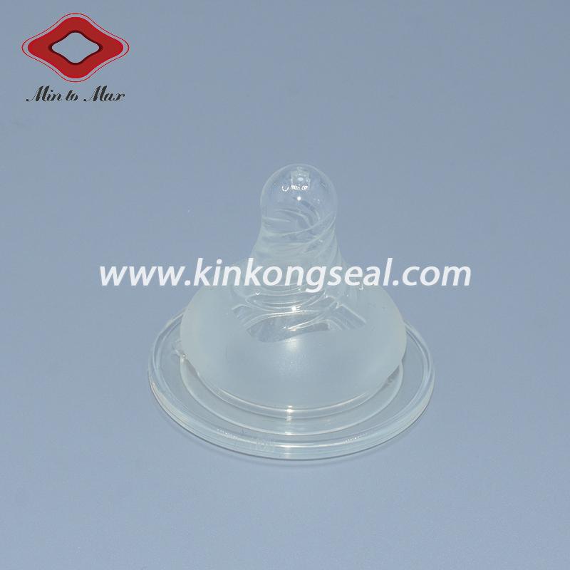 Customized 100% Food-Grade Silicone Baby Nipple