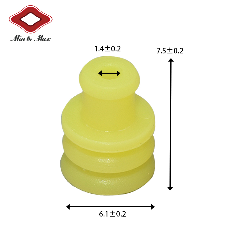 AMP Superseal 1.5 Series Connectors Wire Seal 281934-2 Fits Ducati Cooling Fan And ATV 282080-1