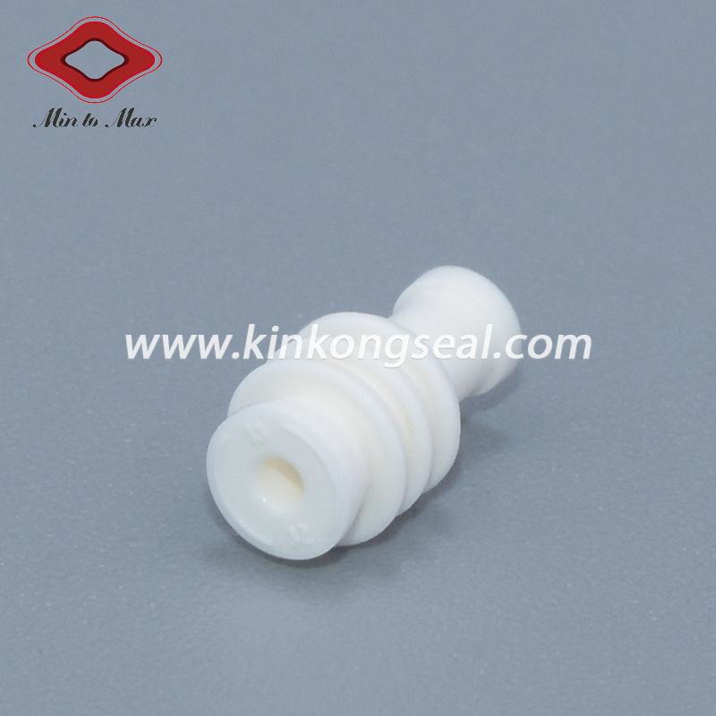 Tyco Amp MQS White Customized Silicone Cavity Blanking Plug 963143-1