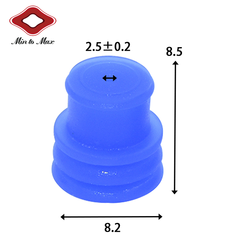 963243-1 Tyco Amp Timer Automotive Connector Series 2 way silicone connector seal For Nissan Vw Audi