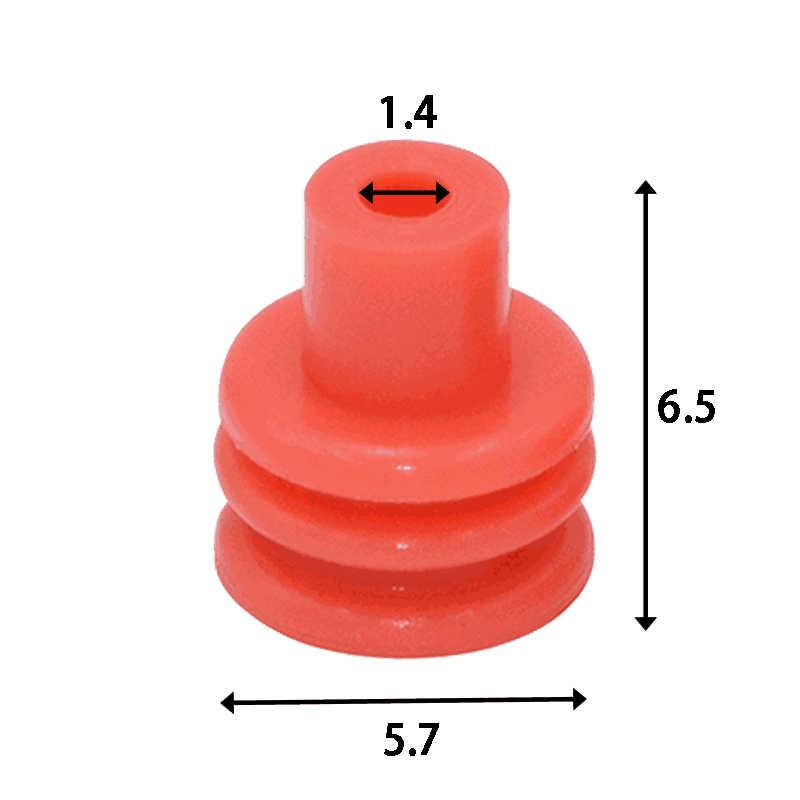 Delphi TE Connectivity Amp SICMA 2.8 Series Wire Harness Sealing Plug 1-1437713-2  211M0009
