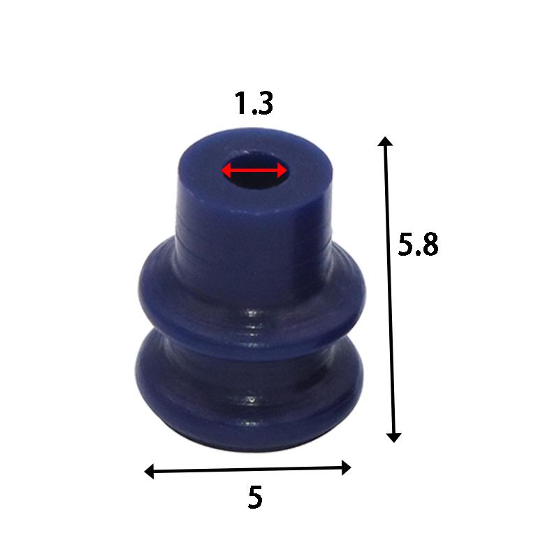 7165-0208 Silicone Rubber Wire Seals For Sumitomo DL Series Car Connector